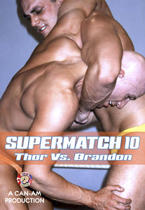 SUPERMATCH 10 (JOHN THOR VS CODY BRANDON) DVD