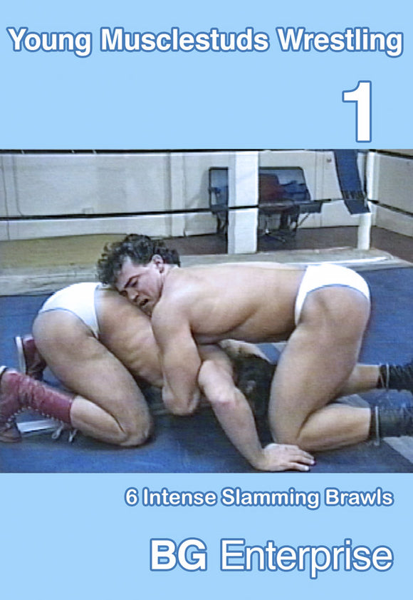 YOUNG MUSCLESTUD WRESTLING 1 DVD