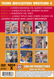 YOUNG MUSCLESTUD WRESTLING 4 DVD
