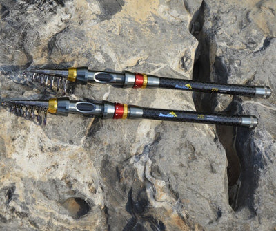 Carbon Fiber Telescopic Fishing Rod