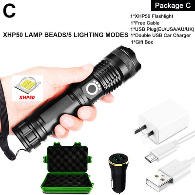 Extreme Survival LED Flashlight