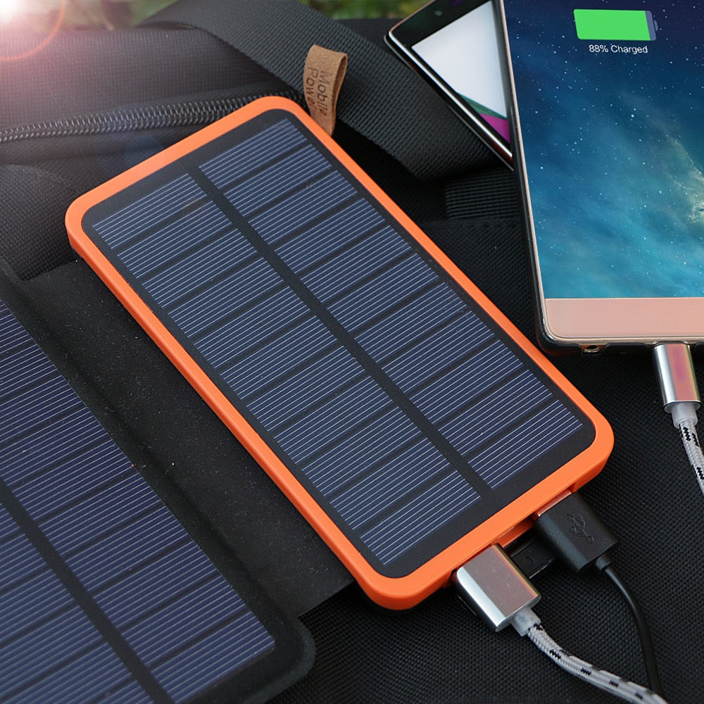 Solar Power Bank 20,000mAh
