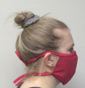 Cotton Face Mask- String Tie