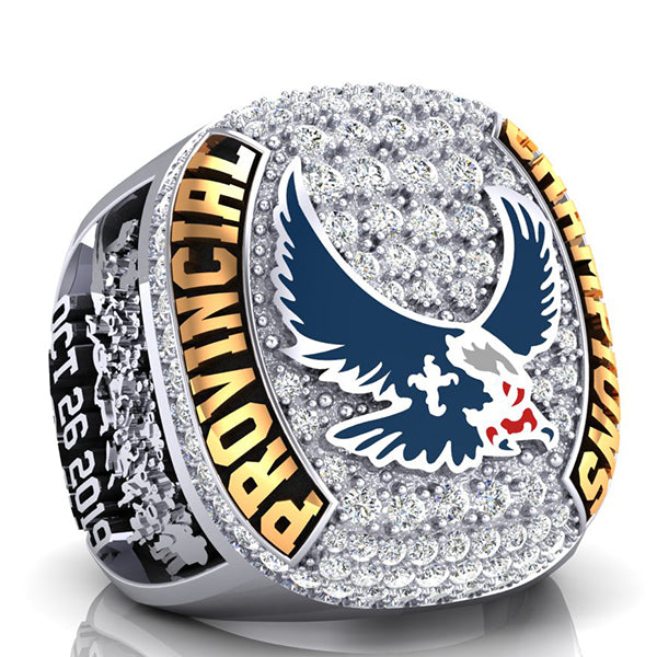 Eastside Eagles Championship Ring - Design 1.14