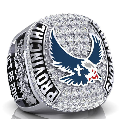 Eastside Eagles Championship Ring - Design 1.12
