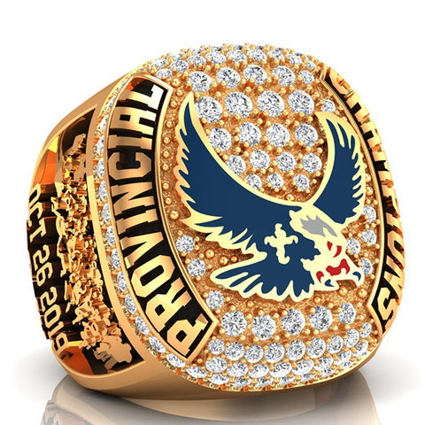 Eastside Eagles Championship Ring - Design 1.13