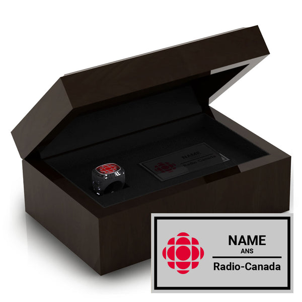 Radio Canada Ring Box
