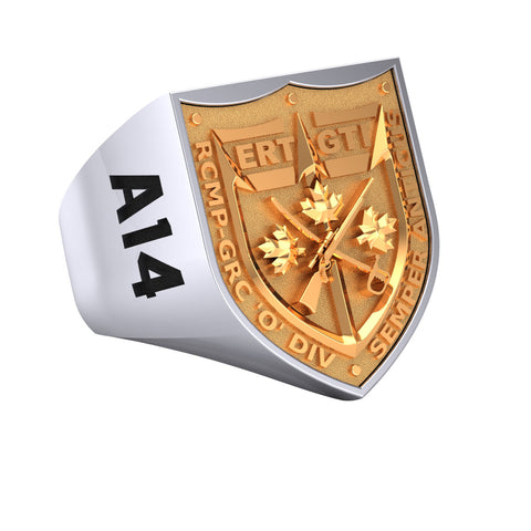 RCMP Tactical Unit Signet Ring