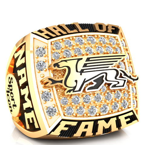 Guelph Gryphons Hall of Fame Ring - D.3.1