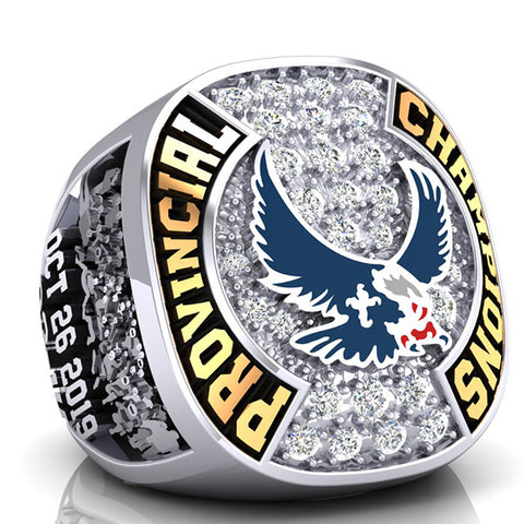 Eastside Eagles Championship Ring - Design 6.11