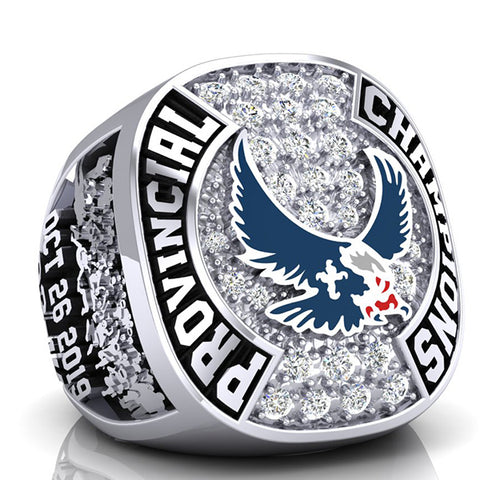 Eastside Eagles Championship Ring - Design 6.9