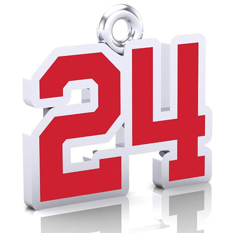 Southpoint Capitals Number Charm (8mm x 10mm (per character))