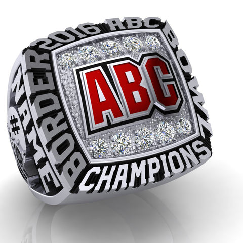 2016 ABC Border Bowl Championship Ring