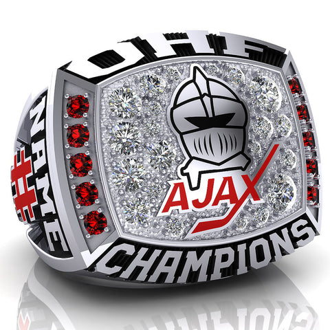 Ajax Knights Juvenile Ring - Design 4.5