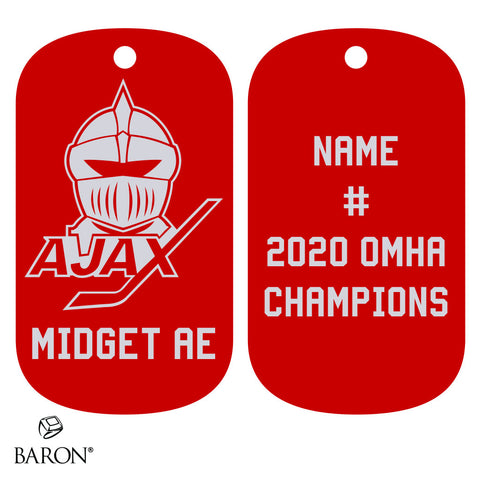 Ajax Knights Dog Tags