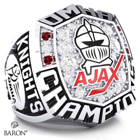 Ajax Knights Championship Ring - Design 1.2