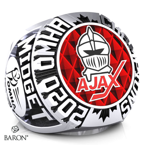 Ajax Knights Championship Ring - Design 2.2