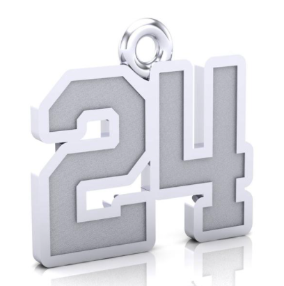 U Sports All - Canadian Number Pendant