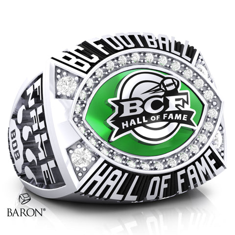 BC Football Hall of Fame Ring - Design 1.14 (MEN'S RING)