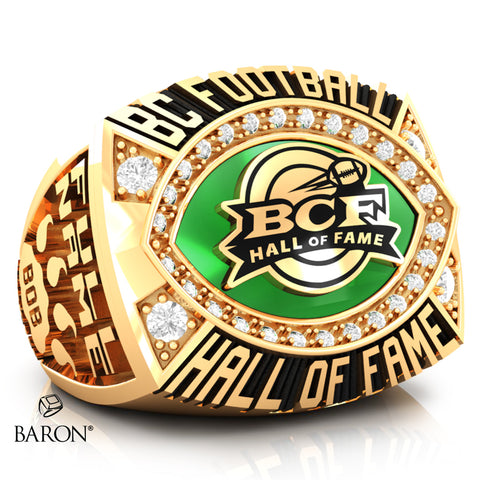BC Football Hall of Fame Ring - Design 1.15 (MEN'S RING)