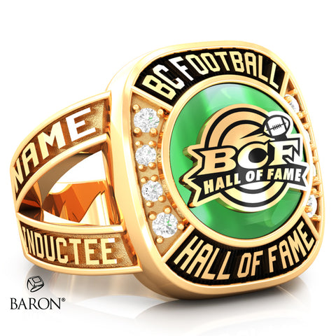BC Football Hall of Fame Renown Ring - Design 2.6 (WOMEN'S RING)