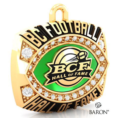 BC Football Hall of Fame Pendant - Design 1.17