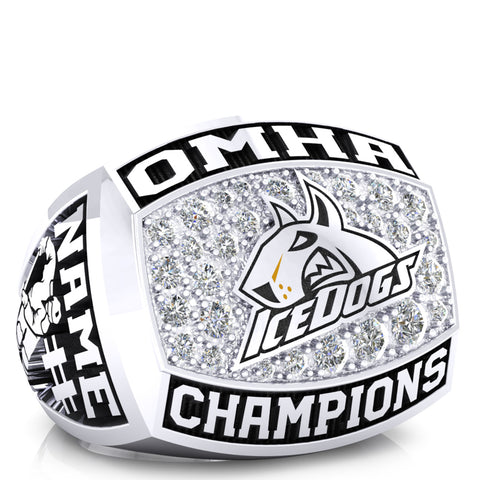 BCH Ice Dogs - Peewee AE - OMHA Ring - Design 1.1