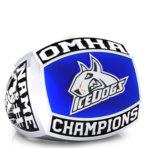 BCH Ice Dogs - Peewee AE - OMHA Ring - Design 1.2