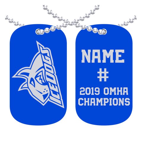 BCH Ice Dogs - Peewee AE - OMHA Dog Tags