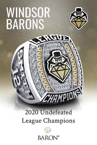 Windsor Baron's 2020 League Champions Poster