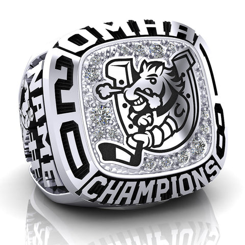Barrie Colts Peewee AA Ring - Design 1
