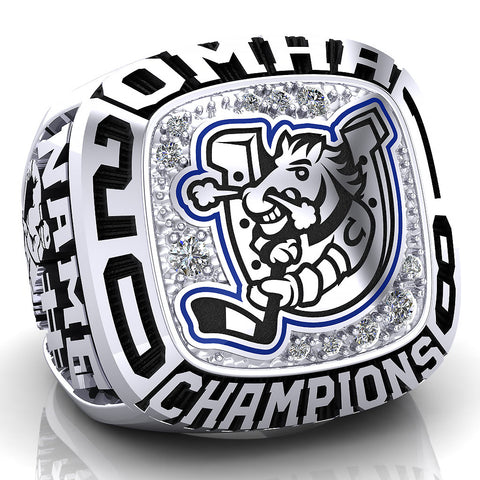Barrie Colts Peewee AA Ring - Design 1.5