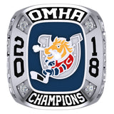 Barrie Colts Peewee AA Ring - Design 3.1