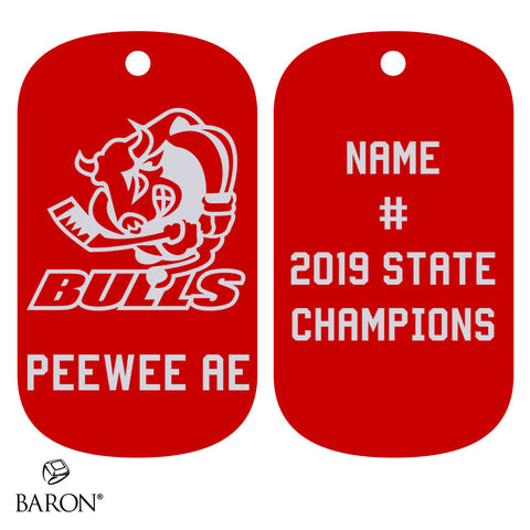 Belleville Peewee AE - OMHA Dog Tags
