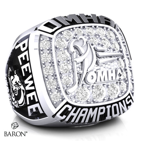 Belleville Peewee AE Championship Ring - Design 3.2