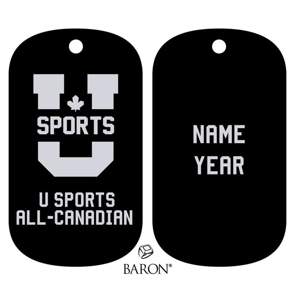 U Sports All - Canadian Dog Tags