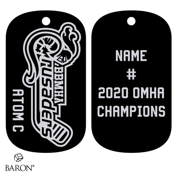 Blyth-Brussels Atom C Dog Tags