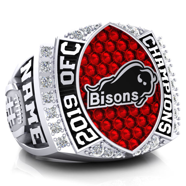 Bisons Football Ring (2019) - Design 2.7 *Balance