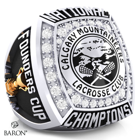 Calgary Mountaineers Championship Ring - Design 1.9