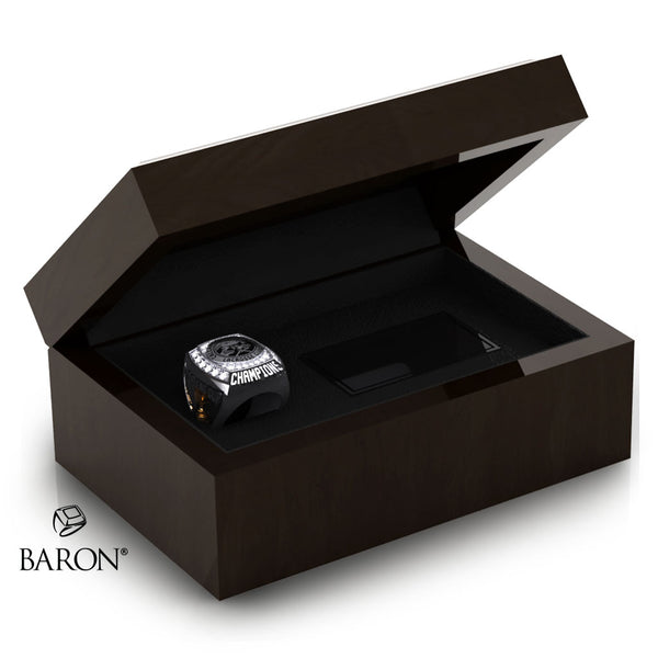 Calgary Mountaineers Championship Ring Box