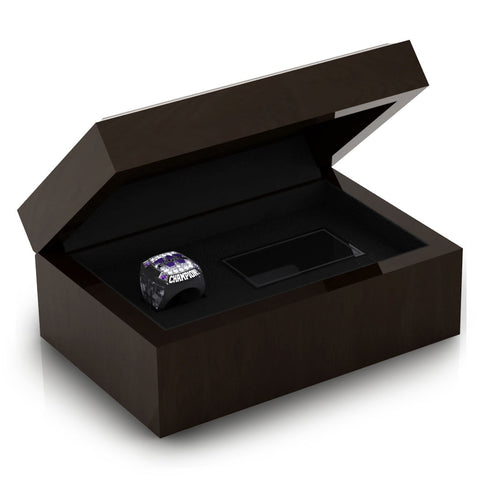 Calgary Wolfpack Football Ring Box