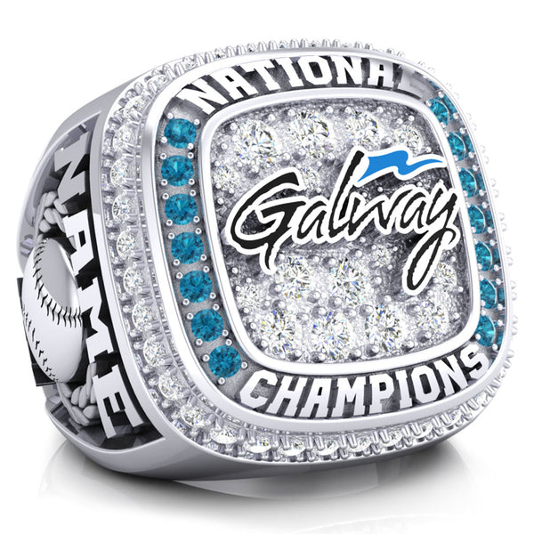Canadian National Softball 2019 Ring - Design 2.5