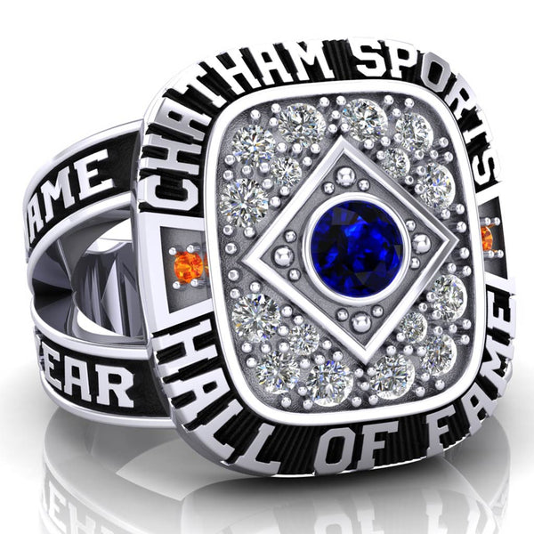 Chatham Sports Hall of Fame Women's Ring - (Durilium, 10kt White Gold)