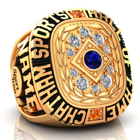 Chatham Sports Hall of Fame Men's Ring - (Gold Durilium, 10kt Yellow Gold)