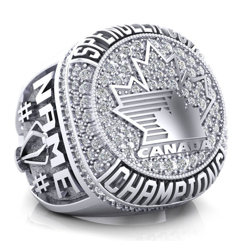 Spengler Cup Championship Ring - Design 1.12
