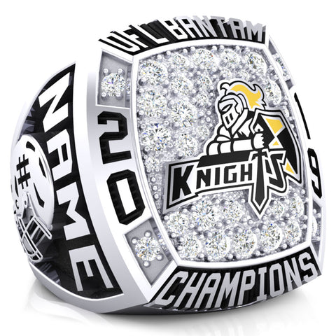 Clarington Knights Championship Ring - Design 1.5