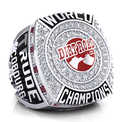 Cobourg Dirt Road Co. Championship Ring - Design 2.5