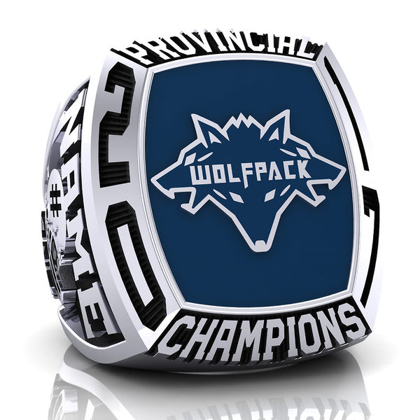 Coquitlam Wolfpack Ring - Design 1