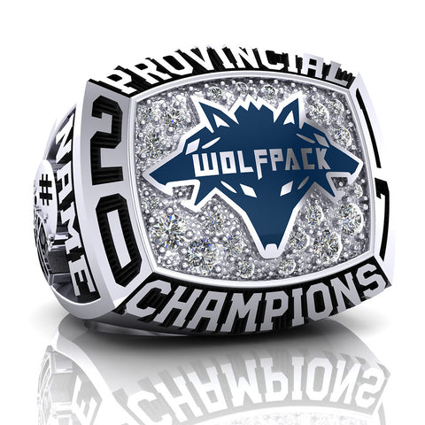 Coquitlam Wolfpack Ring - Design 2