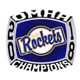 Delhi Rockets - Peewee C Ring - Design 2